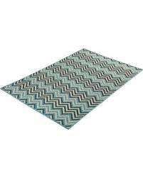 Zig Zag Outdoor Rug Bargains On Geometric Zigzag Blue Indoor Outdoor Area Rug