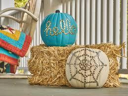 tiki pumpkin carving ideas how to make a glam thumbtack pumpkin diy