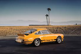 1973 rsr porsche classic car find of the week 1973 porsche 911 carrera rs opumo
