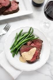 beef tenderloin with cognac cream sauce striped spatula