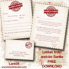 christmas freebies letters from santa printables