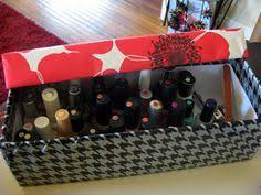 diy nail polish storage appartment pinterest nail polish