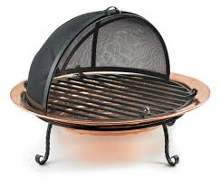 Firepit Bowl by Copper Fire Pit Bowl Hammered Copper Fire Pit Allbackyardfun