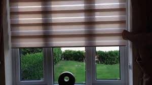 Dual Day And Night Roller Blinds Day And Night Roller Blind Youtube
