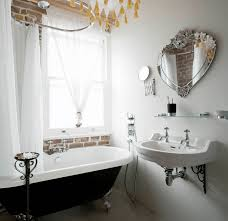 Vintage Retro Bathroom Decor by Bathroom Best Silver Frame Unique Mirror Bathroom Decor Near