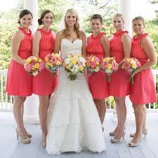 bridesmaid dresses coral coral bridesmaid dresses