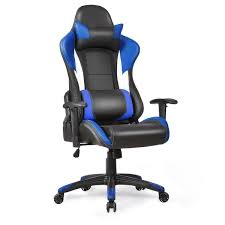 Recliner Gaming Chairs Costway Ergonomic High Back Racing Style Gaming Chair Recliner