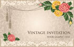 free invitation cards colorful invitation card background free vector 57 241