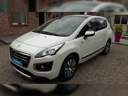 peugeot family car peugeot 3008 1 6 hdi 115 cross way carventura