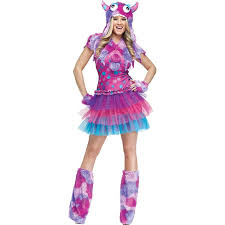 Furry Monster Halloween Costume by Amazon Com Funworld Polka Dot Monster Costume Clothing