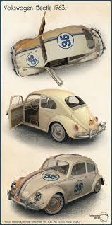 volkswagen beetle studio max 3d volkswagen beetle 1963 3d models toffanello