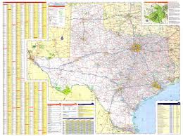 Texas Map Images 36x48 Texas State Official Executive Laminated Wall Map Tx Dept