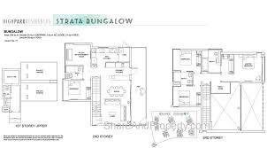 bungalow floor plan high park residences floor plan landed house strata bungalow condo