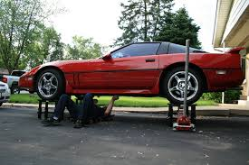 safety how to raise the car higher than the jack stands will