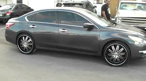 nissan altima black 2007 nissan altima with 20 inch rims on tires and wheels ideas