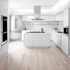 cuisine blanche avec ilot central 465 best cuisines avec îlot central images on kitchen