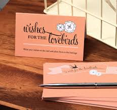 wedding wish cards lovebirds well wishing cards wedding wish cards