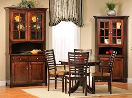 amish dining room tables elisee shaker 2 door china hutch countryside amish furniture