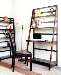 Ladder Office Desk Amazing Home Office Shaped Wooden Desk With Shelf And Wooden