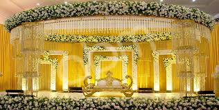 Indian Wedding Hall Decoration Ideas Abm Decorators Alleppey Kerala Wedding Stage Decoration Arches
