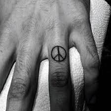 43 famous peace sign tattoos designs and ideas gallery golfian com