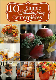 huckleberry simple thanksgiving centerpieces up
