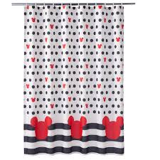 Mickey Mouse Nursery Curtains by Mickey Mouse Shower Curtain