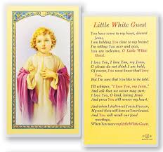 prayer cards white guest child laminated prayer cards 25 pack