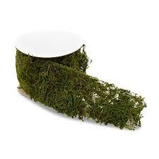 moss ribbon roll of faux moss ribbon the knot shop