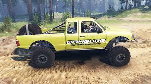 Yellow Ford Ranger Truck - ranger pre runner 03 03 16 for spin tires