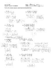 rational rotation kuta software infinite algebra 1 simplifying