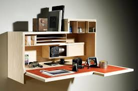 Wall Desk Ideas Custom Wall Mounted Folding Laptop Desk With Storage And Shelves Ideas
