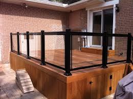 glass railings in mississauga brampton vaughan railings