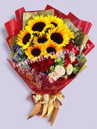 bouquet of sunflowers sunflower bouquet lavender flora largest online florist with