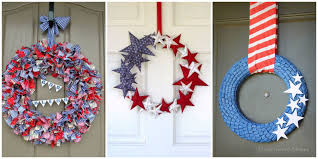 4th of july wreaths 14 diy 4th of july wreaths easy ideas for fourth of july wreath