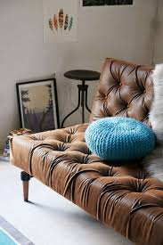 Vegan Leather Sofa Classic Chesterfield Sofa Updated In Luxe Vegan Leather On A