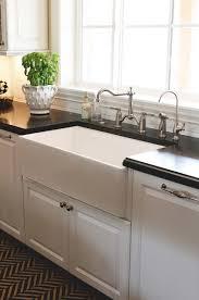 Kitchen Sink Black Granite by Black And White Kitchen Runner Design Ideas
