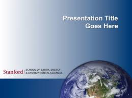 powerpoint templates stanford of earth energy