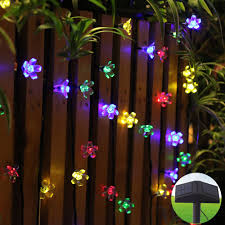 Solar Garden Tree Lights by Solar String Light Crystal Ball