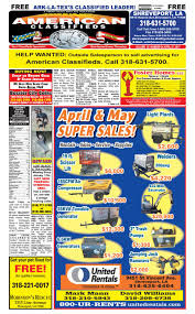american classifieds shreveport la april 27th 2017 by galadriel