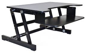 Sit To Stand Desk Converter by Bought A Stand Up Desk No More Back Pain From 12 Hours Day