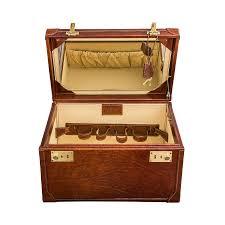 Vanity Box Luxury Leather Vanity Case U0027the Bellino U0027 By Maxwell Scott Bags