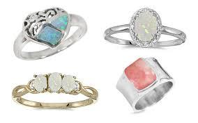 natural gemstones rings images Gemstone rings set into 10k 14k gold genuine natural jpg
