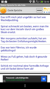 status sprüche whatsapp status sprüche für alle fälle android app chip