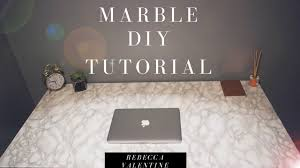 contact paper diy marble contact paper desk cheap u0026 easy youtube