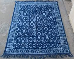 cotton rug etsy