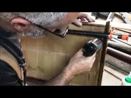 Kitchen Cabinet Drawer Repair Diy Repairing A Drawer Refurbishing Old Kitchen Cabinets Part 2