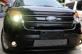 2013 ford explorer upgrades shop accessories for ford explorer stainless steel front