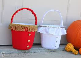 Halloween Bucket Halloween Buckets For Trick Or Treating Make It And Love It