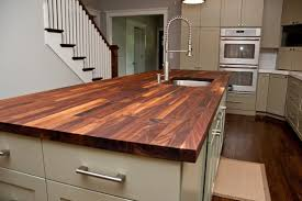 furniture chic dark wooden butcher block countertops lowes decorating fantastic walnut butcher block countertops lowes furnishing kitchen design with white kitchen cabinet and drawer